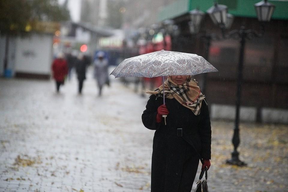 Начало недели в Екатеринбурге будет холодным и дождливым