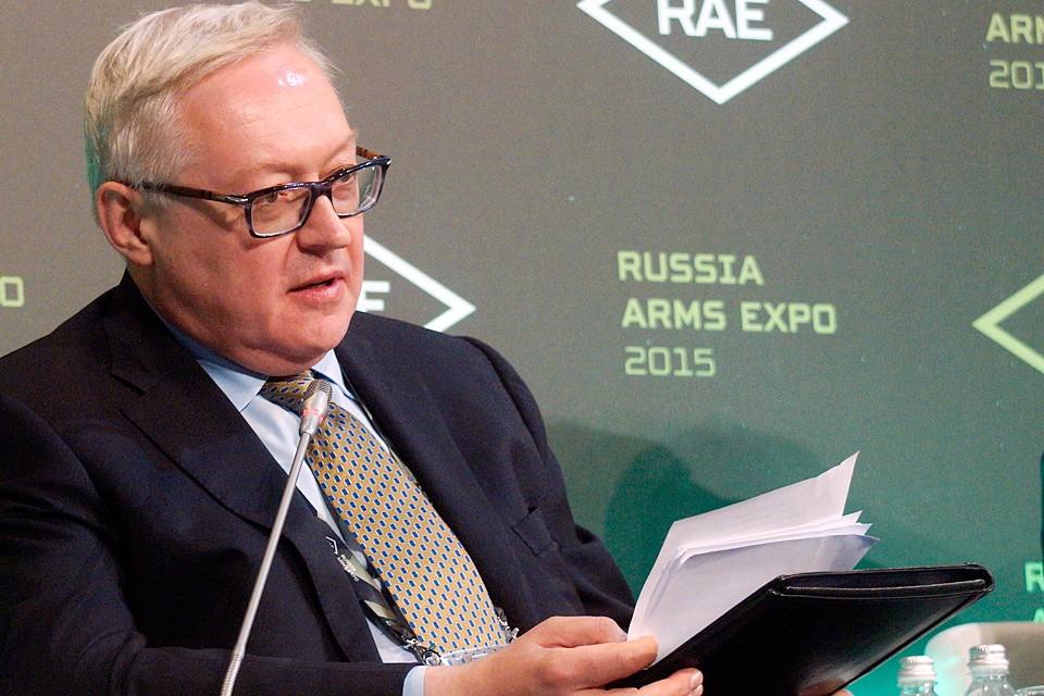 Замглавы Министерства иностранных дел России Сергей Рябков
