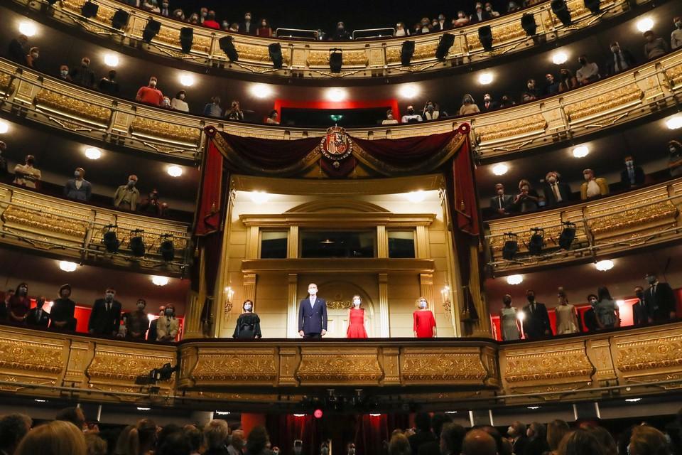 В Королевском оперном театре в Мадриде в воскресенье было сорвано вечернее представление