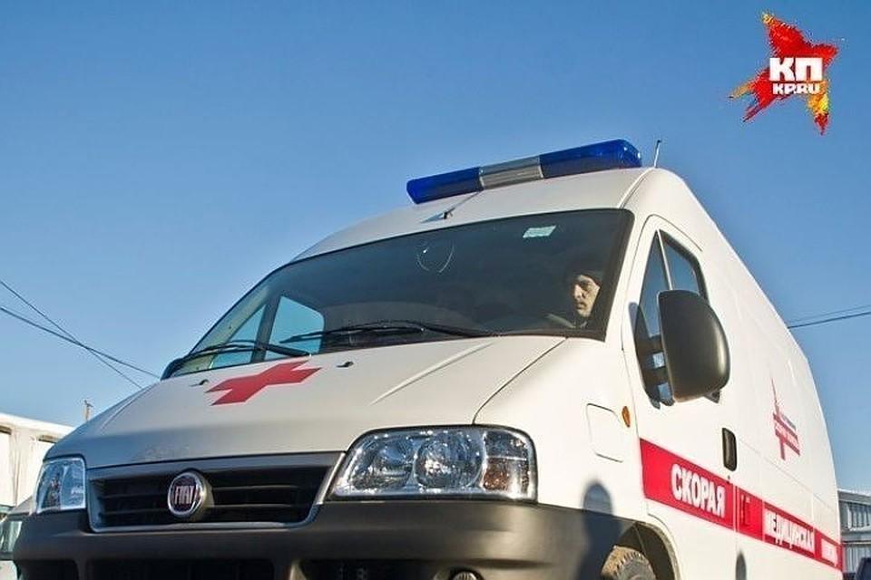 Водителя с травмами доставили в больницу