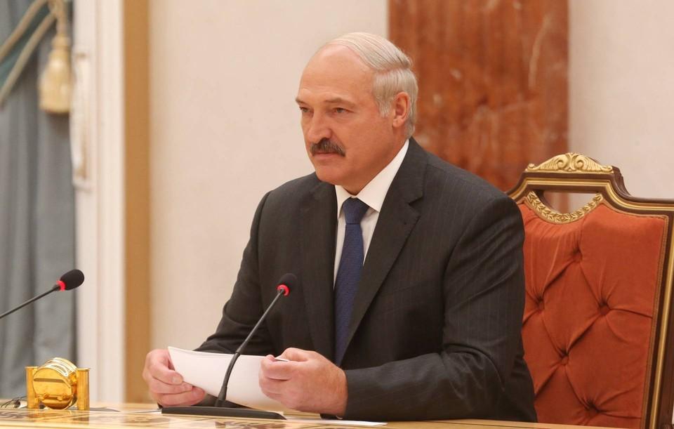 Президент Белоруссии произнес речь на инаугурации