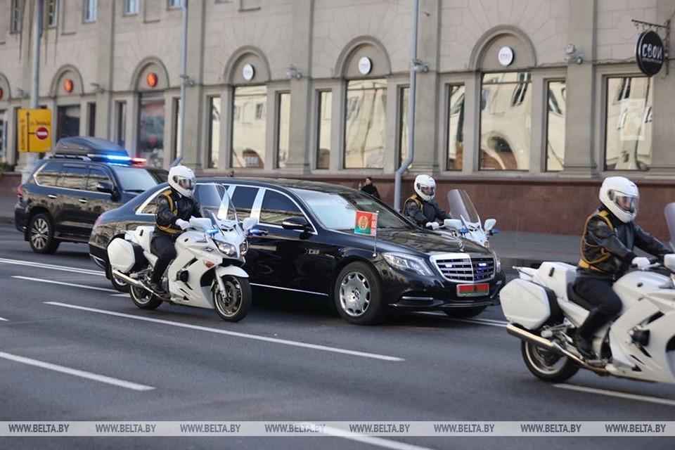 Представители разных родов войск принимали участие в церемонии. Фото: belta.by