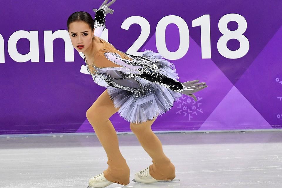 Олимпийская чемпионка 2018 года в одиночном катании Алина Загитова