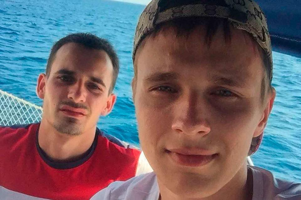 Алексей Игумнов и Никита Шаталов