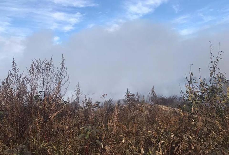 «Сайлент Хилл, видимость нулевая»: Свалка площадью 15 гектаров горит под Нижним Новгородом