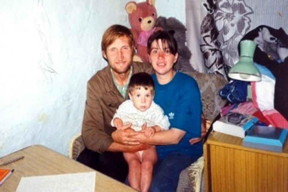 Молодая семья поселилась в общине в 1994-м году. Фото: личный архив.