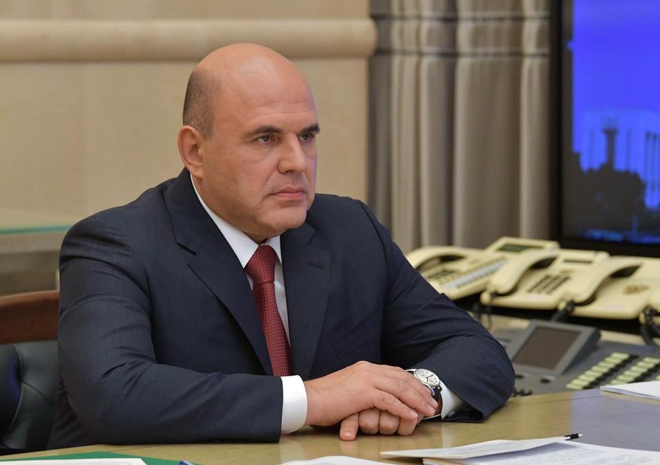 Премьер-министр России Михаил Мишустин. Автор фото: Александр АСТАФЬЕВ/POOL/ТАСС