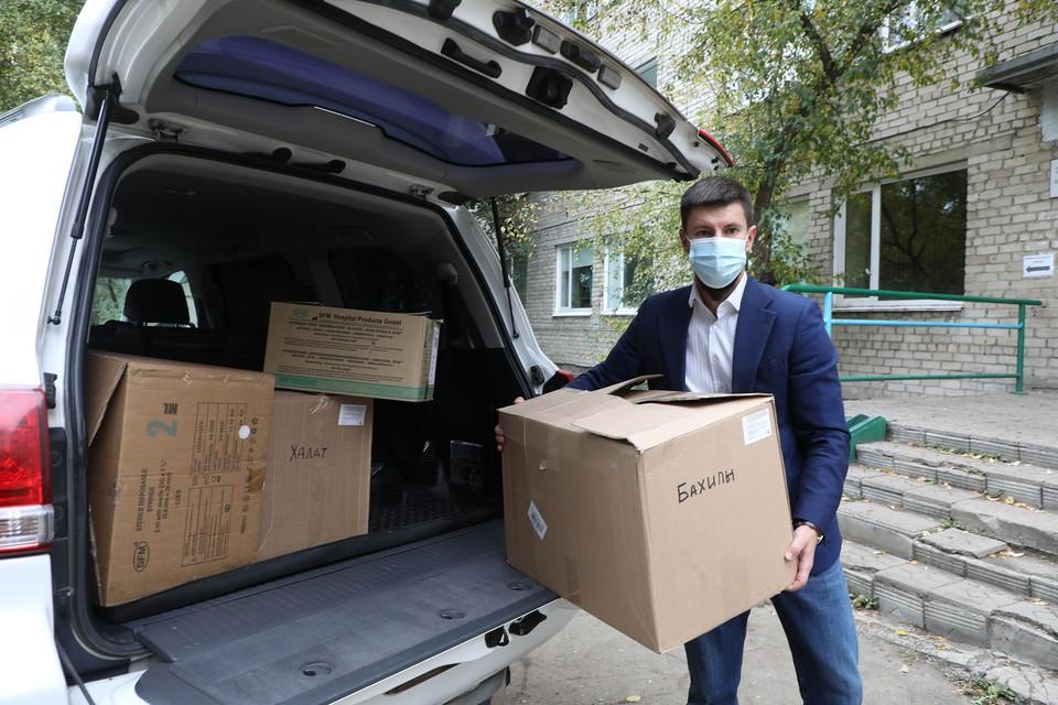 Алтай-Кокс и фонд «Милосердие» поддерживают Заринскую городскую больницу