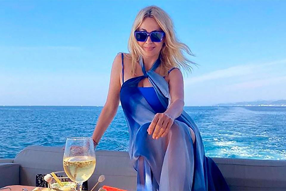 Рудковская поддерживает фигуру специальной диетой