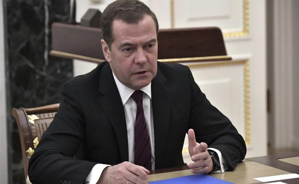 Дмитрий Медведев выступил за предложение дать улицам России имена врачей, которые умерли при борьбе с эпидемией коронавируса
