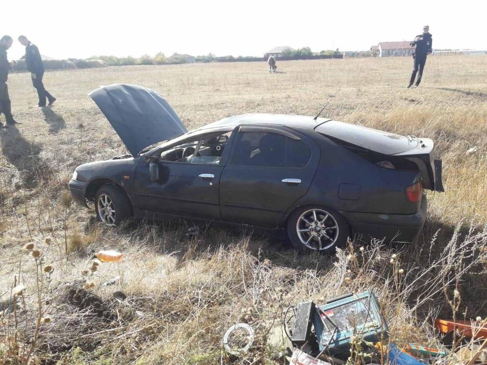 Авария произошла у села Терновка