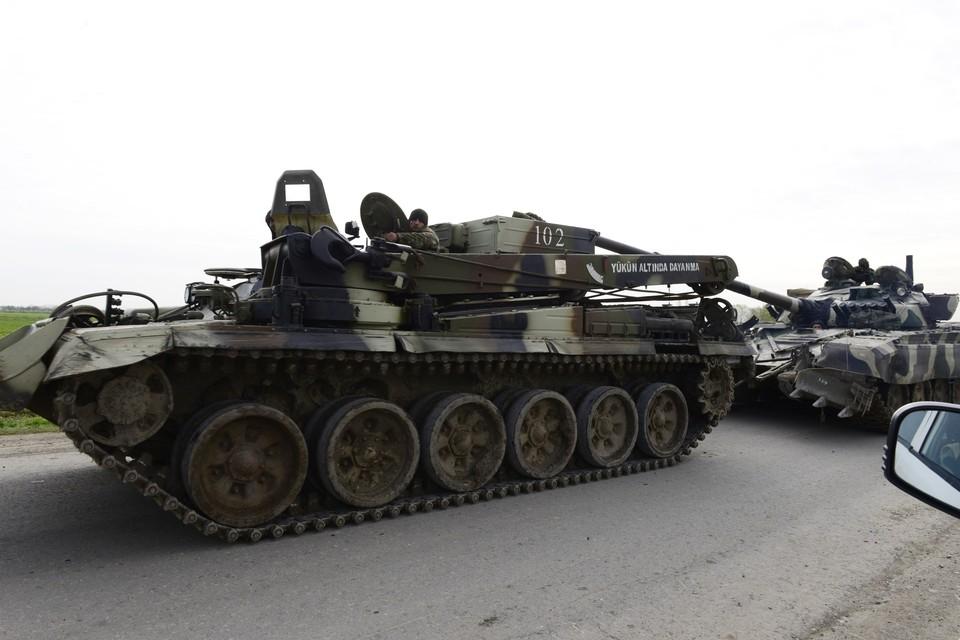 Минобороны Армении опубликовало видео уничтожения танков Азербайджана