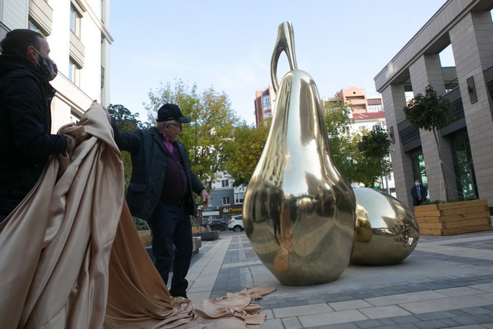В историческом центре Уфы, на улице Ленина, 75 появился новый арт-объект «Дары природы»