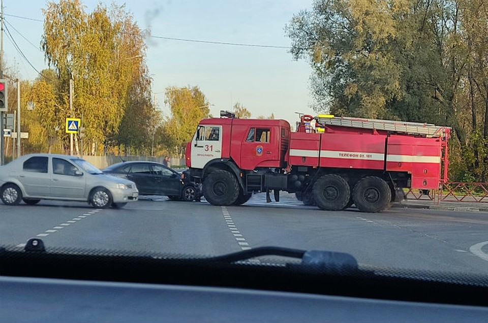 ДТП произошло на проспекте Фрунзе. ФОТО: Артем Аляпышев
