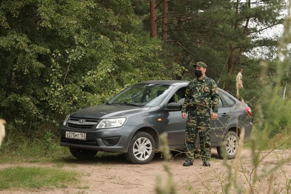 Специалисты ежедневно объезжают маршрут патрулирования протяженностью 30 км