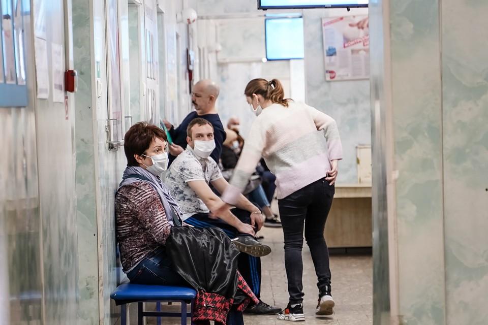 В Самарской области за сутки заболели 110 человек, вылечились - 45