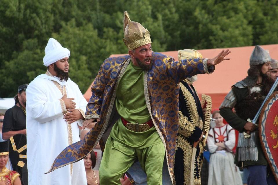 """Фестиваль """"Русь. Эпоха Объединения"""" воспроизводит события битвы при Кондурче, которая состоялась 18 июня 1391 года"""