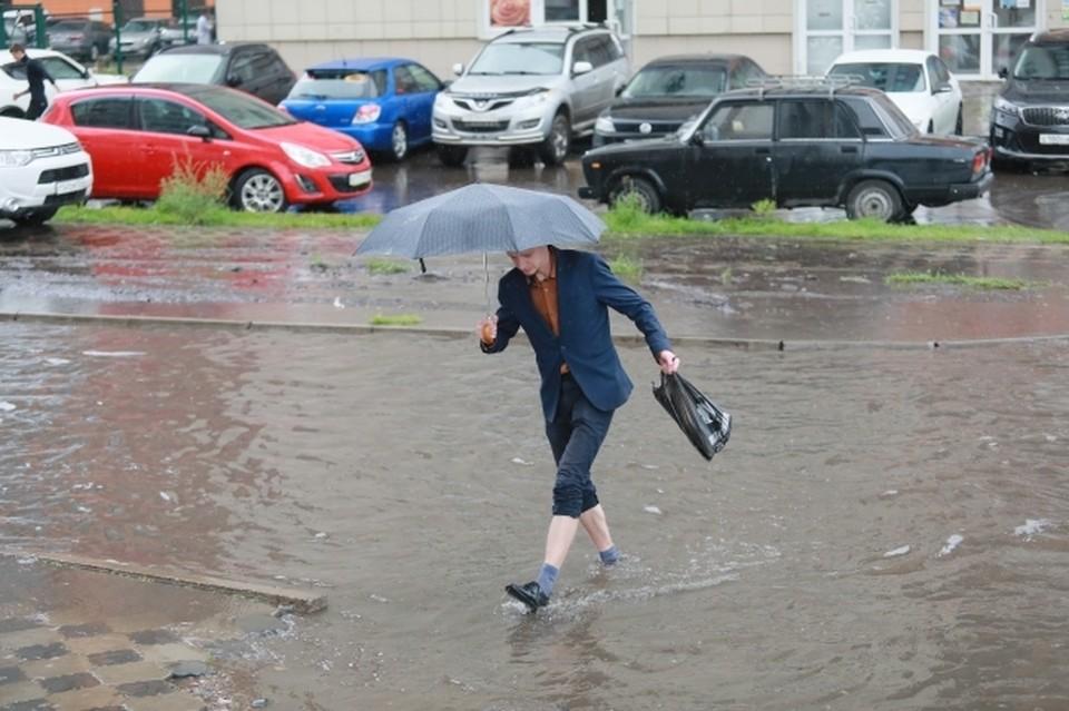 В Крыму 29 и 30 сентября пройдут сильные дожди с грозами и градом.