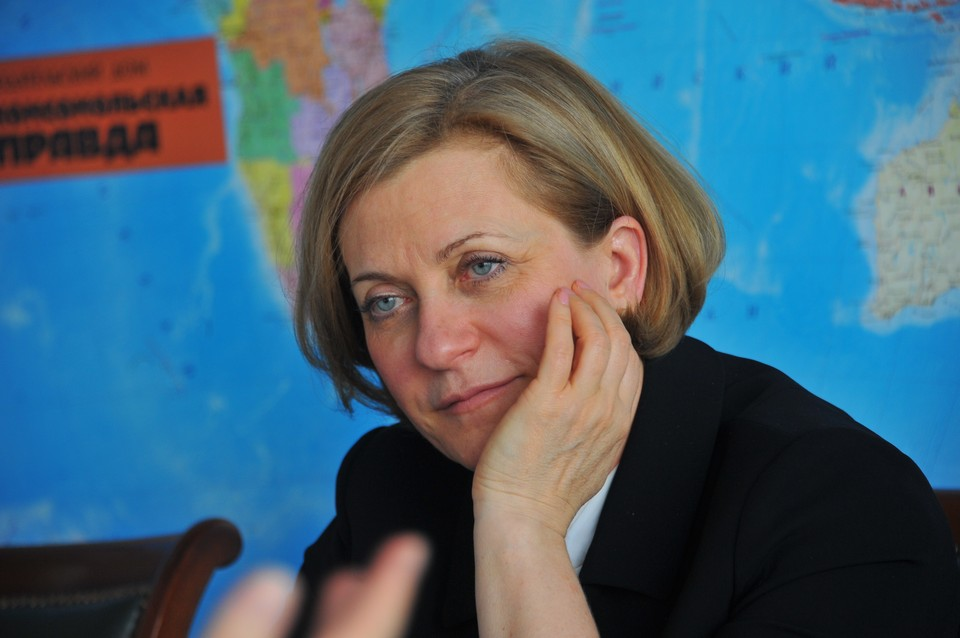 Попова: нет первой и второй волны пандемии коронавируса