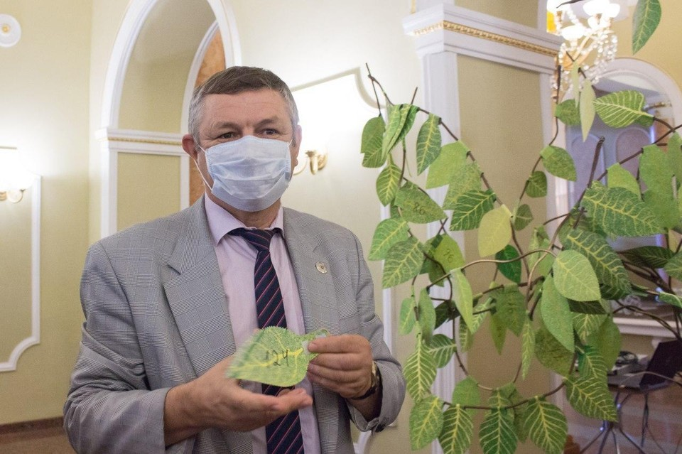 Проект «Дерево желаний» инициирован в 2019 году. Фото: пресс-служба драмтеатра Донецка