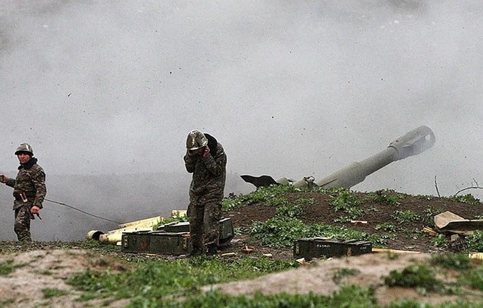 Минобороны Армении сообщило об уничтожении азербайджанских опорных пунктов и бронетехники