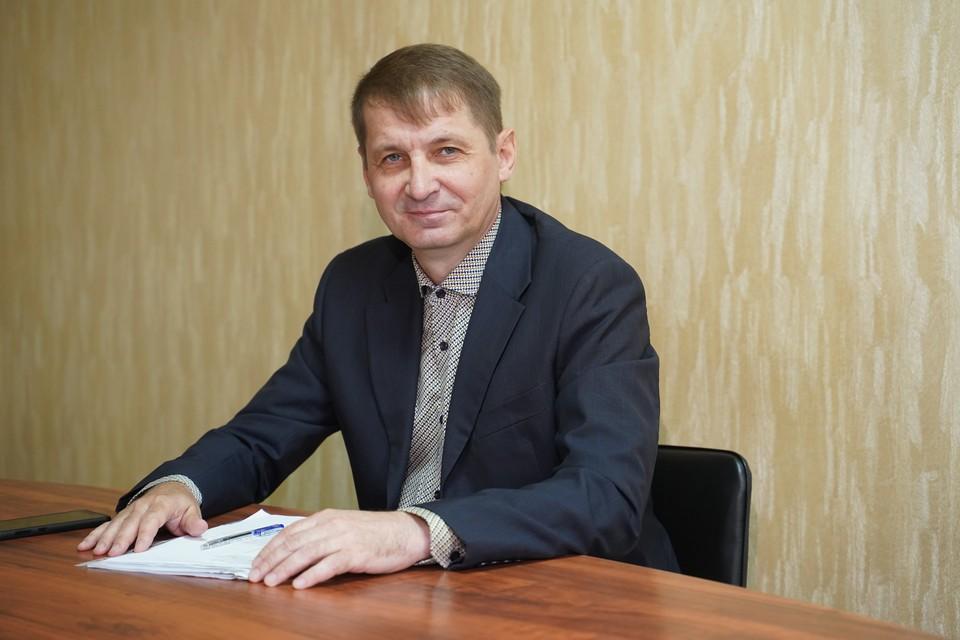 Директор УК «Коммунресурс» Леонид Пугачев