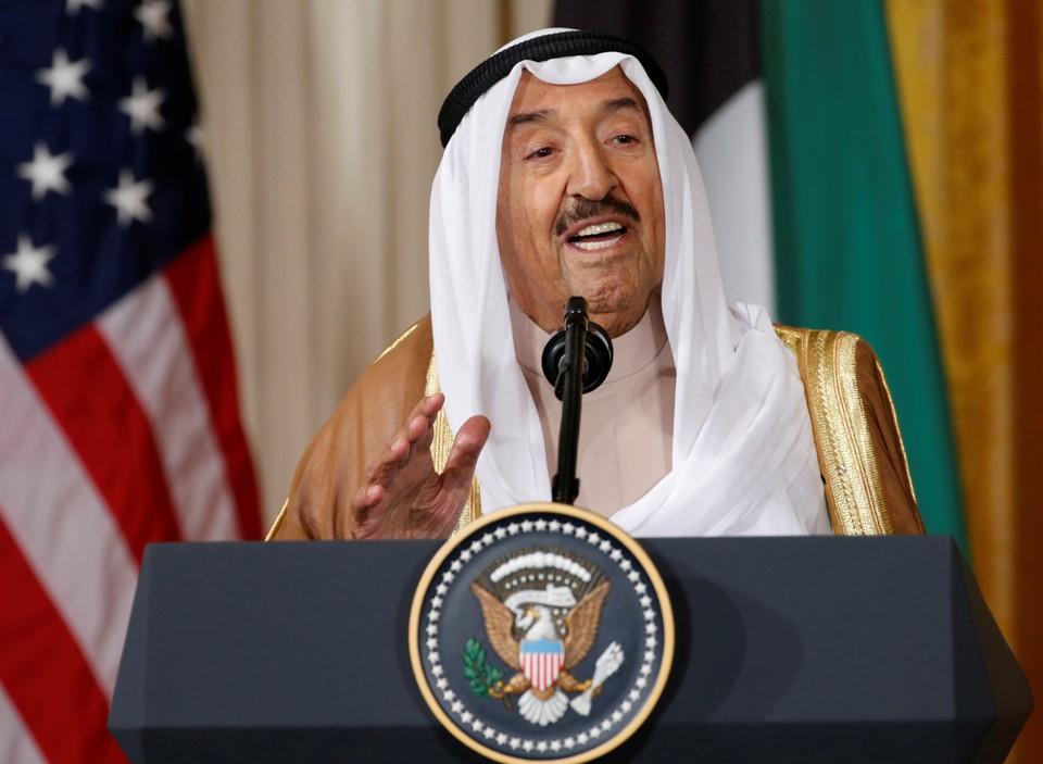 Кувейтский шейх Сабах аль-Ахмед аль Джабер ас-Сабах.