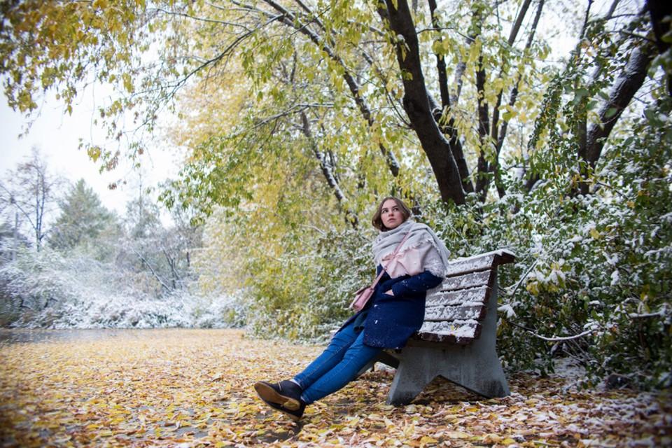 В Челябинске первый снег ждут уже в октябре.