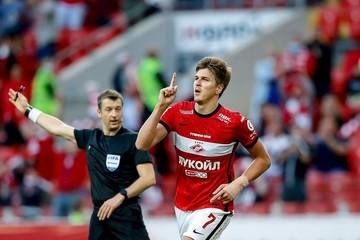 Барнаульское «Динамо» может получить за Александра Соболева от московского «Спартака» 5,2 млн рублей