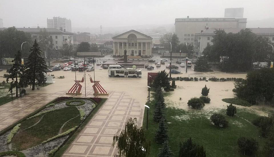 В Новороссийске воют сирены. Фото: мэрия города