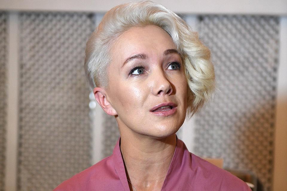 "Дарья Мороз на съемках телесериала ""Клиника счастья""."