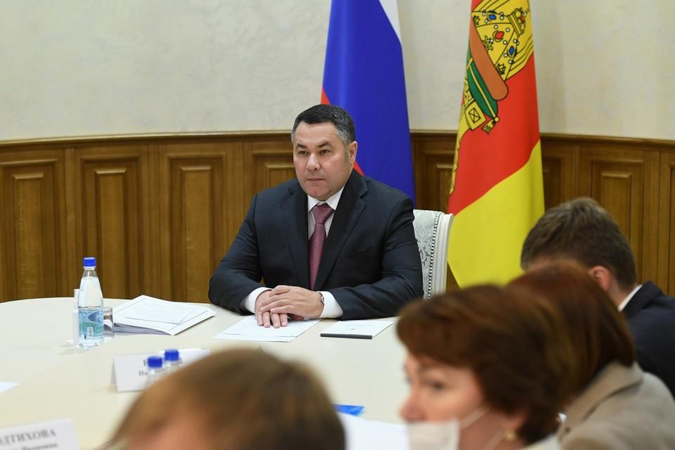 Две дороги отремонтируют в Старицком районе Тверской области по решению региональной бюджетной комиссии. Фото: ПТО.
