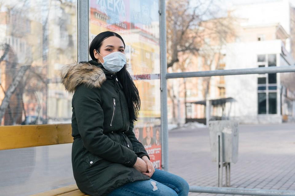 Без маски в транспорт заходить запрещено