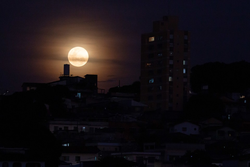 """Полнолуние """"Охотничья Луна"""" в ночь на 2 октября 2020 года ..."""