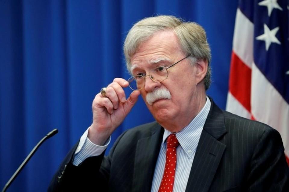 Бывший советник президента США по национальной безопасности Джон Болтон