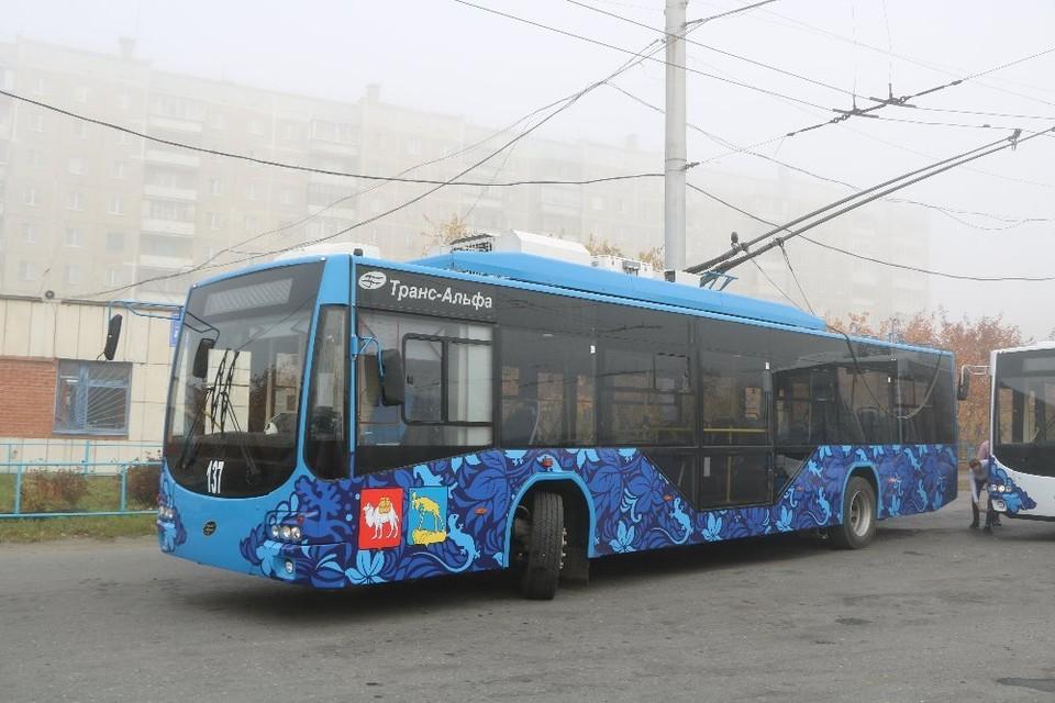Миассу троллейбусы подарила Москва. Фото: администрация Миасса