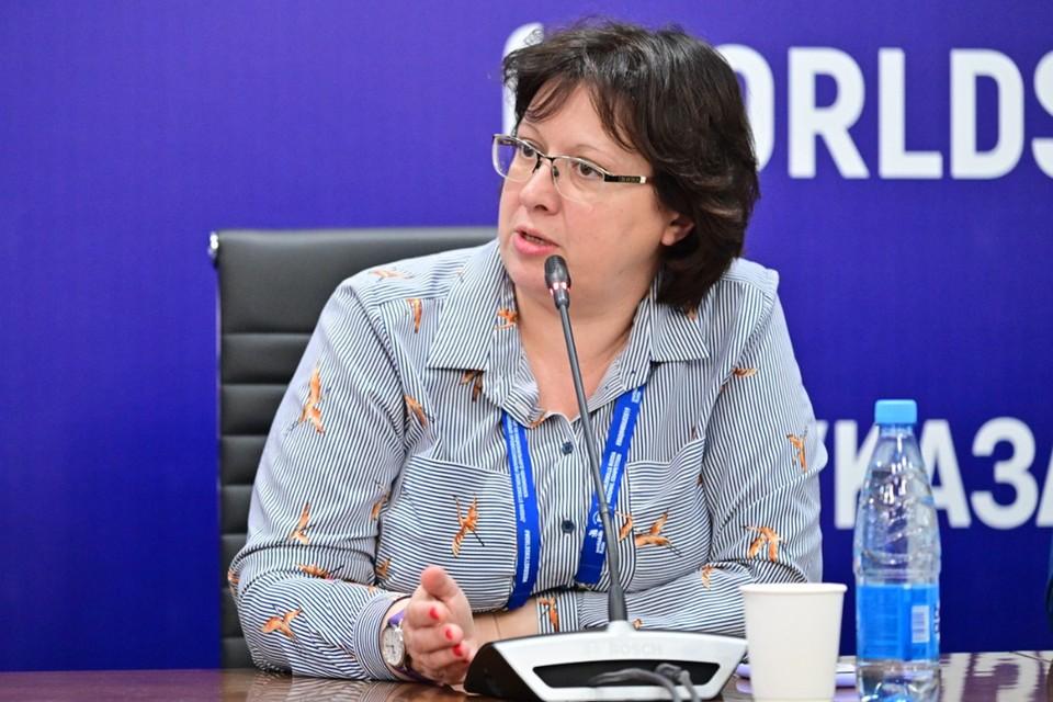 Директор Академии «Ворлдскиллс Россия» Светлана Крачинская.