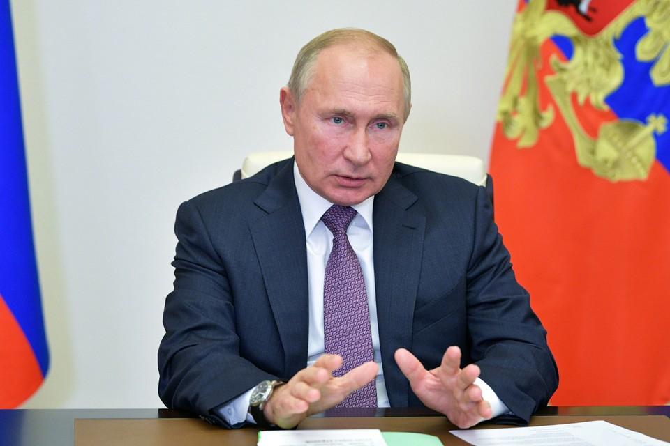 Поздравив лидеров фракций с хорошим результатом на прошедших региональных выборах, Путин сразу перешел к главной теме дня