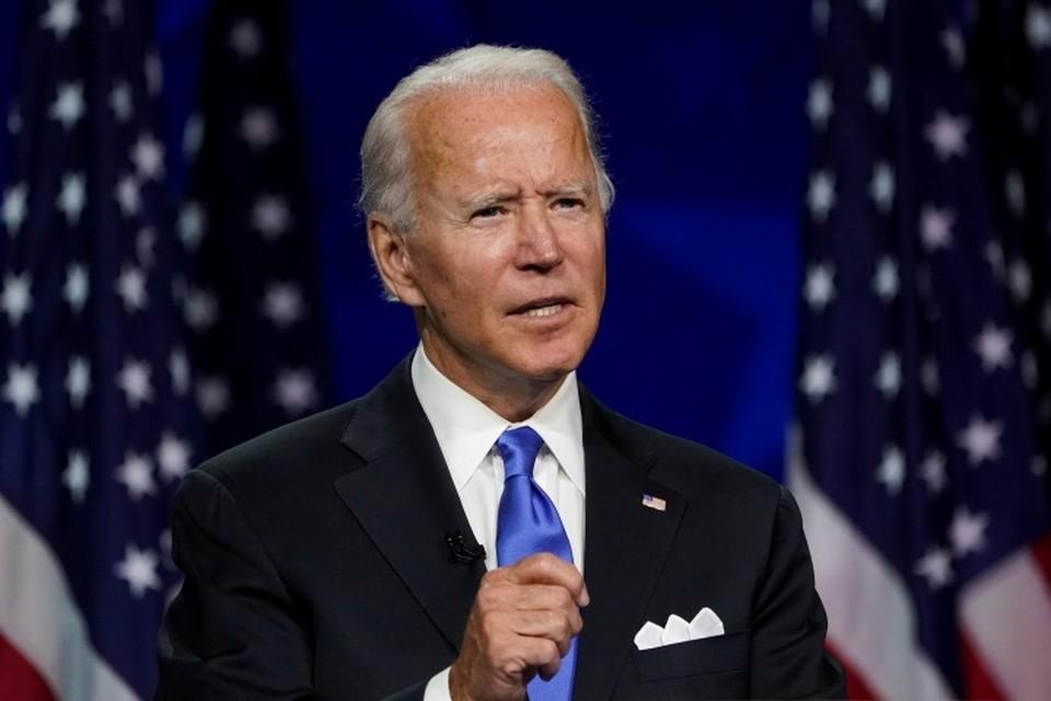 Кандидат на пост президента США от Демократической партии Джо Байден