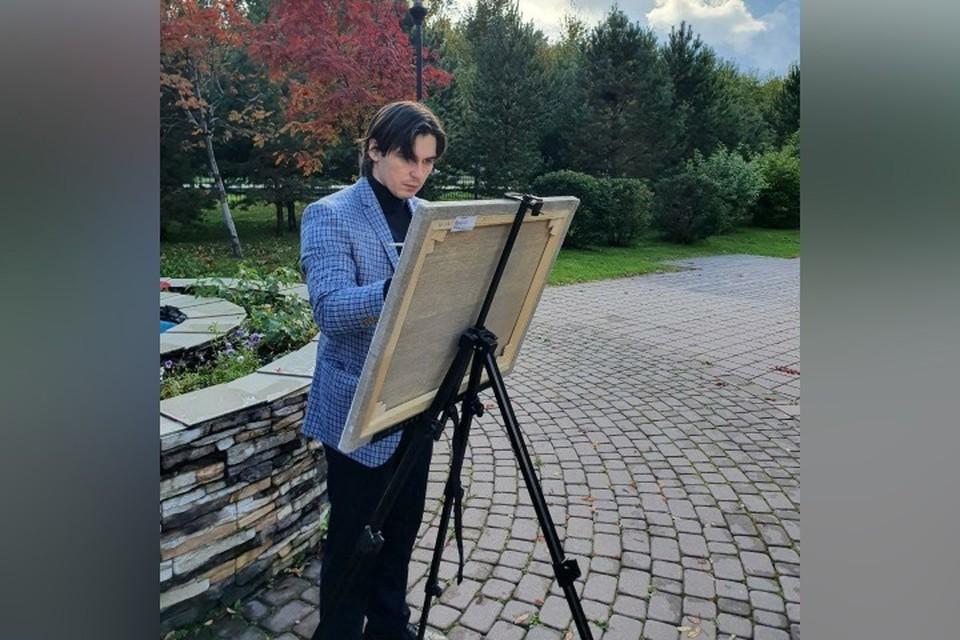 Черная тушь и «красная зона»: как врач из Кузбасса ковид рисовал. ФОТО: из личного архива Руслана Меллина
