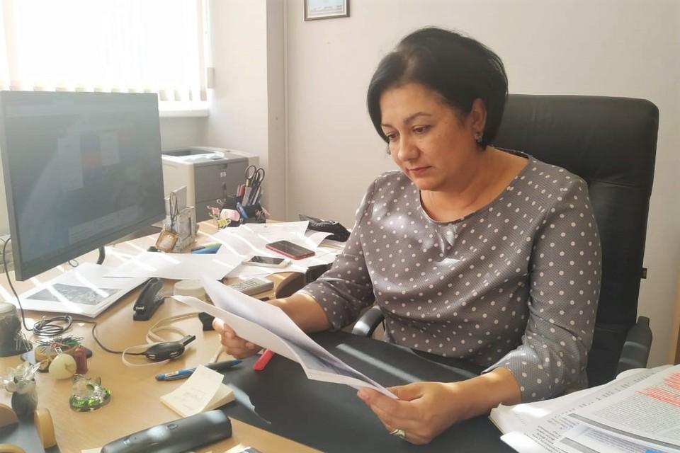 Начальник управления архивным делом в городе Севастополе Наталья Калинина