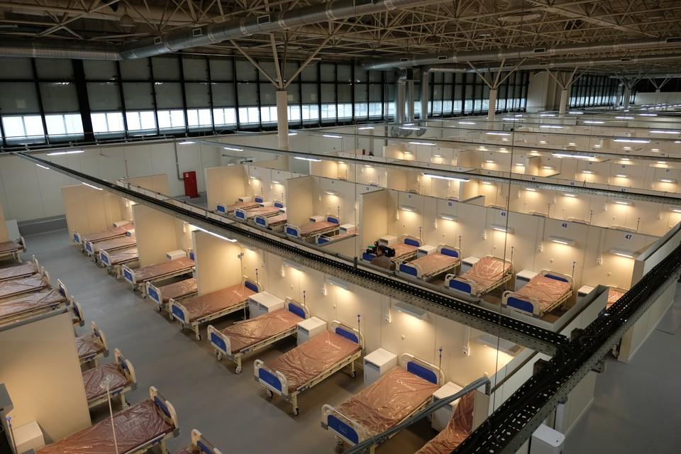Корпус вместит 280 коек, 15 реанимационных коек, 40 врачей и 120 медсестер