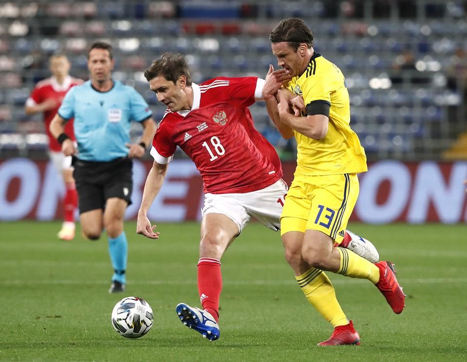 Швеция забила первой в этом матче.