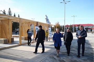 Глава Минстроя оценил новую площадь в башкирском Ишимбае, реконструированную за 144 млн рублей