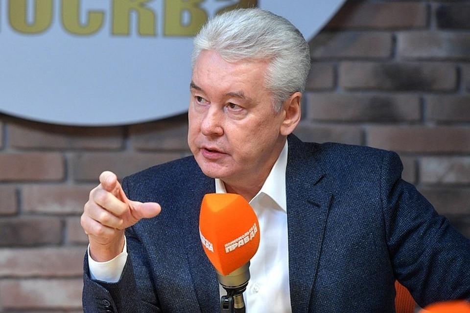 Сергей Собянин напомнил, что перевод сотрудников на удалённую работу позволит властям не закрывать предприятия