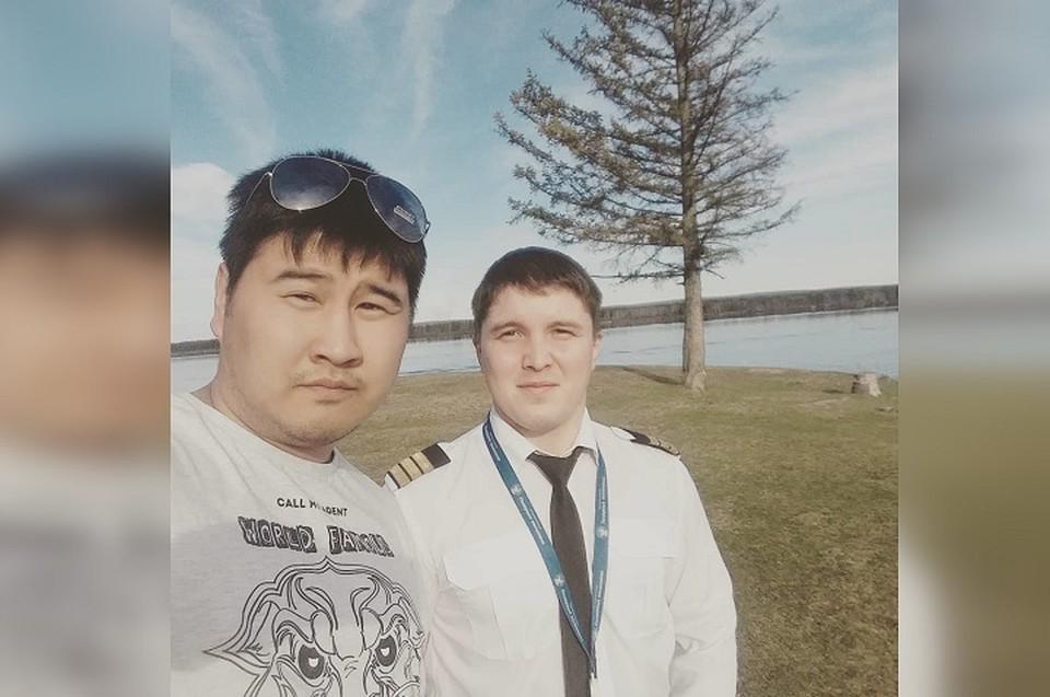 Руслан Валеев (справа) пропал еще 13 октября. Фото: yura_n_gogolev в Instagram