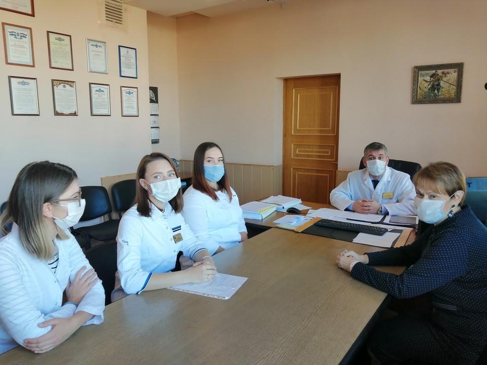 Молодые ординаторы Арина, Дарья и Ксения готовы к работе