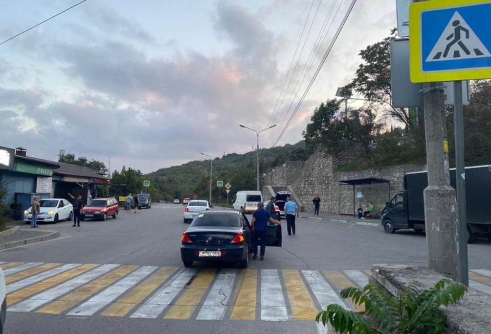В Ялте водитель иномарки сбил 9-летнюю девочку. Фото: официальный сайт МВД по Крыму.