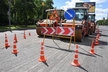 Дороги Москвы ремонтируют по новым технологиям