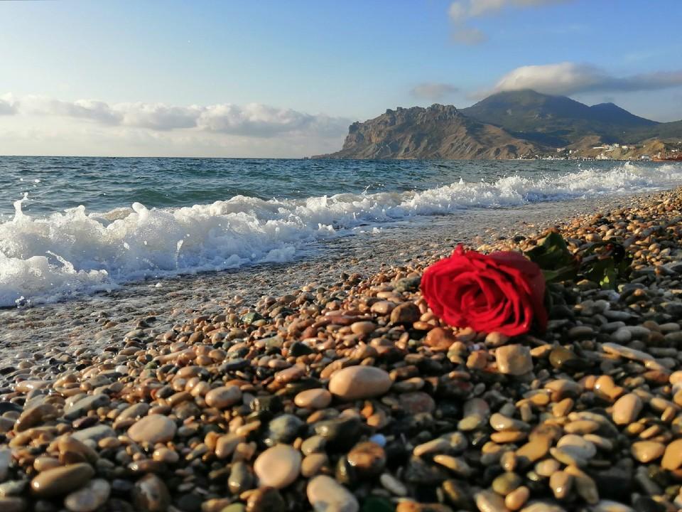 Температура воды в Черном море 20…22°.
